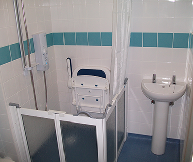 FSG bathroom interior Care and Support