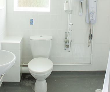 FSG Care and Support Bathroom Interior