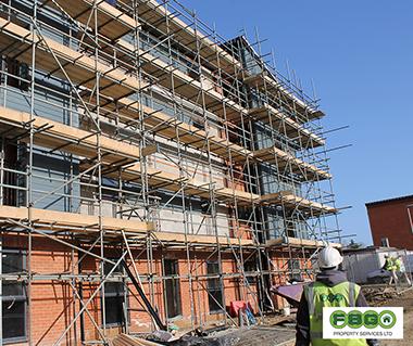 FSG Property Services Heyford Group Walton Lakes Cladding Installation
