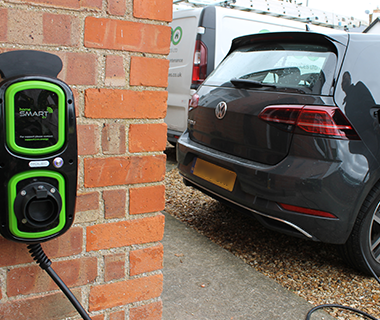FSG Propety Services Ltd install domestic EV charging point.