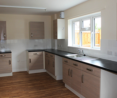 FSG provide full kitchen refurbishment.