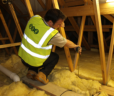 FSG worker isolating loft